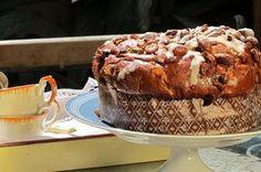 Pan dulce con frutas y cognac - Recetas y Cocina Pan Dulce, Deli, Muffin, Bread, Healthy Recipes, Baking, Breakfast, Desserts, Christmas