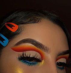 Different type of eye makeup Lili-Anne Sturch holifield - Beauty Dope Makeup, Baddie Makeup, Makeup Eye Looks, Eye Makeup Art, Colorful Eye Makeup, Skin Makeup, Makeup Inspo, Eyeshadow Makeup, Eyeliner