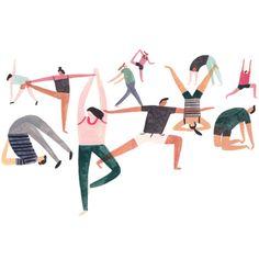 Strike a (yoga) pose by Charlotte trounce. It's International YogaDay.