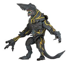 Figures Comics / Movies : Pacific Rim Ultra Deluxe Action Figure Kaiju Knifehead V3 18 cm ( NECA )