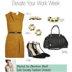 """""""Elevate Your Work Week"""" by solesociety on Polyvore"""
