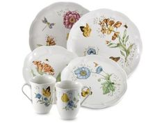 18-pc. Butterfly Meadow Dinnerware Set by Lenox at Cooking.com