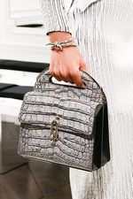 Balenciaga Fall 2013 Ready-to-Wear Collection on Style.com: Crocodile stamp bag