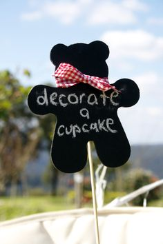 Chalkboard bears could be a cute craft/goodie