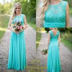vampal.co.uk Offers High Quality Tiffany Blue Sleeveless Empire Waist Lace And…