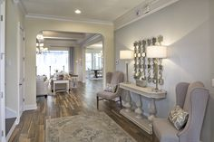 Welcoming Entryway   The Anniston Model by CalAtlantic Homes in The Grove at Twenty Mile