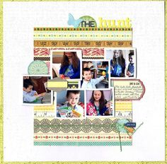 The Hunt Layout by Paula Gilarde for Jillibean Soup