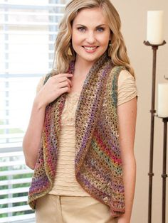 Maggie's Crochet · Fashions to Flaunt Crocheted with Noro Yarns #crochet #pattern #colorful #scarf #hat #capelet #wrap #socks #shawl #fashion