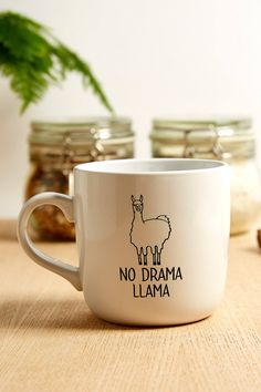 No Drama Llama Mug | Urban Outfitters