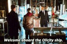 Enjoy your stay, you're never leaving. #Olicity
