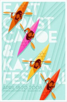 4 colorful posters that will inspire every designer