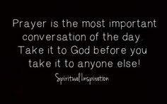 Pray about it more than you talk about it! I am practicing this & the wonders God does when you give it all to Him! :)