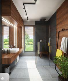 Łazienka z prysznicem - zdjęcie od Mohav Design