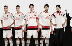 AC Milan 2014-15 adidas Away
