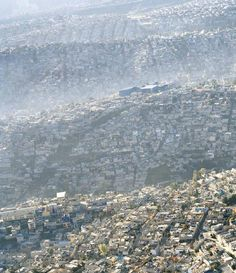 A large amount of people spread out causes the destruction of habitats in the area. The displacement of wildlife can cause an increase in human-wildlife conflict in these areas. Human Overpopulation, Human Environment, High Middle Ages, Mad World, Design Palette, Slums, Global Warming, Aide, Planet Earth