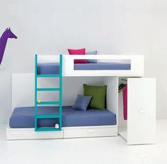 LITERAS JUVENILES E INFANTILES Y CAMAS TREN PARA NIÑOS | Dormitorios juveniles| Habitaciones infantiles y mueble juvenil Madrid