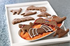 Bats with Cats Chocolate Halloween Cookies