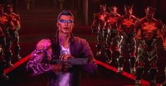 Saints Row: Gat Out of Hell revealed with trailer and images + Saints Row IV: Re-Elected heads to Xbox One, - Lightning Gaming News Saints Row Iv, New Saints, Anime Couples Manga, Cute Anime Couples, Anime Girls, The Heavenly Man, Bright Morning Star, Raise The Dead, Videogames