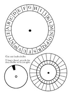 Spy Decoder Wheel