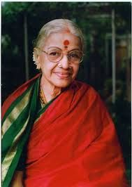 Image result for m s subbulakshmi red saree