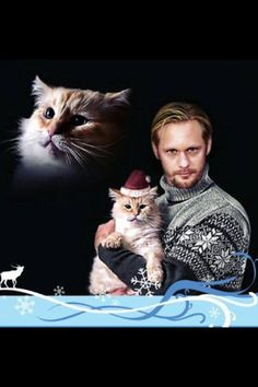 Alexander Skarsgard -* Is it bad that, as much as I like him, I nearly died laughing at this??? jandm