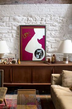 #ecodesign #cardboard #frame #mom #baby #decoration Flat Screen, Mom Baby, Frame, Handmade, Furniture, Decoration, Home Decor, Art, Blood Plasma