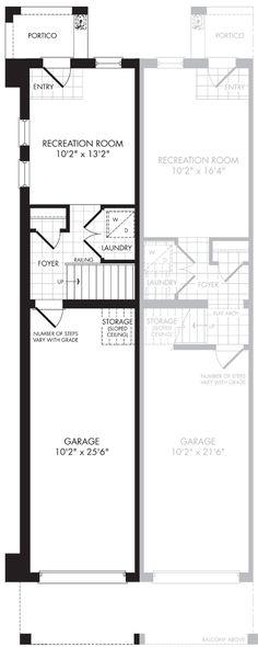 The floor plan of Interior End Ground Floor. Design: Jo-Ann Capelaci Builder: Geranium Homes Portico Entry, Foyer Storage, Price Plan, Workout Rooms, New Homes For Sale, Model Homes, Geraniums, Ground Floor, Home Builders