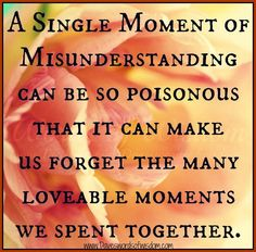 Communicate - keep lovable moments