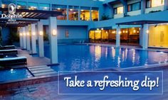 Stay with us & Experience natural coolers with a splash at Dolphin Hotel Vizag.