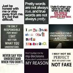 Attitude! Just Be, You Really, True Feelings Quotes, Stay True, Pretty Words, No Response, Texts, Attitude, Hate