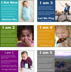 good reminders of child development- Child Development