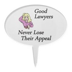 Good Lawyers Cake Toppers