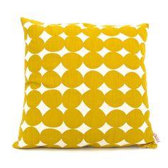 Cushion cover 50x50cm - Pebble in Pollen. $38.00, via Etsy.