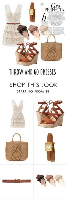"""""""Untitled #27"""" by lanadeltreasure ❤ liked on Polyvore featuring Whiteley, BCBGMAXAZRIA, Ivanka Trump, ViX, Gucci, Dorothy Perkins and Urban Decay"""