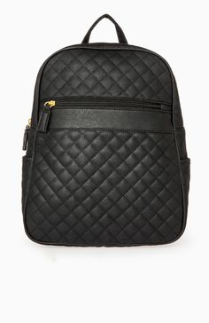 334d12c14445 Quilted Backpack Backpack Purse