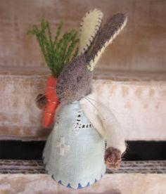 Felt Bunny with Carrot
