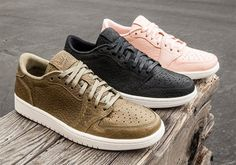 All Three Swooshless Air Jordan 1 Lows Release This Weekend #thatdope #sneakers #luxury #dope #fashion #trending