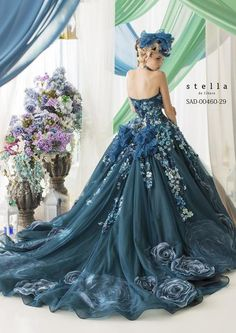 dball~dress ballgown, stella de liberoの検索結果 ~ Beautiful Unique Ball Gowns, couture, wedding, bridal, bride, dress, fantasy, flowers, flower, floral, flora, fairytale, fashion, designer, beautiful, stunning, prom dress, ball gown, Cinderella, Princess, satin, lace, velvet, bodice, vintage, Marie Antoinette, fashion, dress, dresses, elegant, sweetheart, corset,