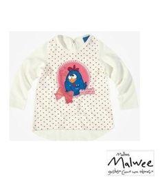 Blusa manga longa feminina Malwee galinha pintadinha - Repipiu Baby & Kids #galinhapintadinha #malweeoficial