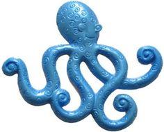 SC119 Octopus: 3 1/4 x 5 x 1/4