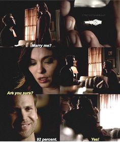 TVD | Alaric proposes to Jo<3<3