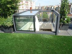 De prachtige en exclusieve Sliding Box van GlazingVision is een ware eye catcher op uw Dakterras.nl dakterras