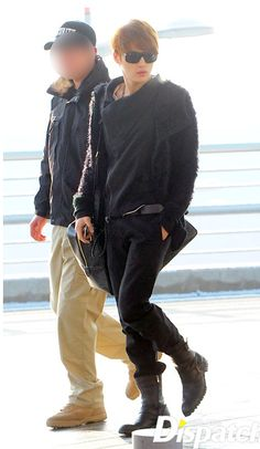 Airport Fashion: Sexy, Mysterious Jaejoong Edition!