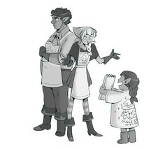 Taako and lil Ren?