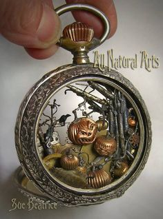 Steampunk Beauties   steampunktendencies: Sinister Pumpkin Patch by... click thru for more ...