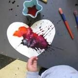 this blog is chock full of ideas for Art experiences with pre-schoolers (and older kids too)