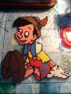 Pinocchio perler beads by PerlerMommy on deviantART
