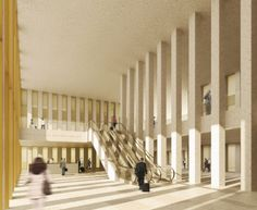 """David Chipperfield Architects · """"SOGLIO"""": The Circle at Zurich Airport"""