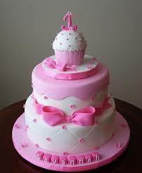 pink birthday cake - Google Search