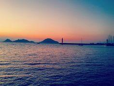 #instagood #instamood #instalike #instagram #instabodrum #instaturkey #dmarin #Turgutreis #Bodrum #Türkiye #Turkey #sunset #çatalada #mavi #sailboat #sailing #happy #like #günbatımı #huzur by mustafa_bluebodrum